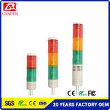 LED de 4 capas de la torre de advertencia, Intermitencia Ce RoHS CHIVATO LUZ LED indicador de ISO9001