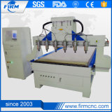 China Proveedor de madera de 3 ejes de múltiples cabezas máquina CNC Router CNC