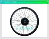 Kit eléctrico conducido rueda trasera de la bici del neumático gordo motor del eje de 500 vatios