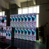 P6 esterno che fa pubblicità allo schermo di visualizzazione della scheda di colore LED