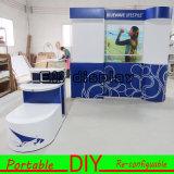 Cabine Tradeshow van het Aluminium van de Douane van het ontwerp de Draagbare Modulaire Opnieuw te gebruiken