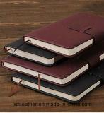 Jornais da tampa do couro dos cadernos da fonte de escritório