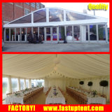 Tente solide de chapiteau de mariage de personnes de l'usager 500 de forme de dôme de murs en verre de tente de mur