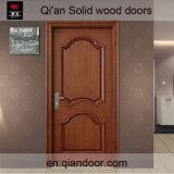 Porte intérieure en bois solide de noix noire