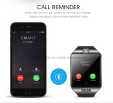 SIM 카드 구멍 Q18를 가진 이동할 수 있는 손목 시계 Bluetooth 지능적인 시계