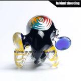Воска ЛИМАНДЫ высокого качества труба руки цветастого оптового куря стеклянная