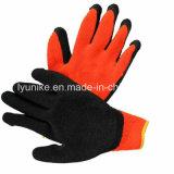 """Латекс """"мятым"""" эффектом покрытием 10g трикотажные пряжи безопасности рабочие перчатки"""