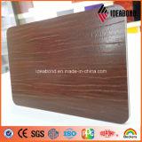 El panel compuesto de aluminio grabado de la cabina de la serie del tacto del nuevo producto de Ideabond