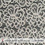Tessuto del merletto di stirata della rete del jacquard per i vestiti (M0484)