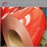 A alta qualidade Prepainted a bobina de aço revestida cor