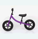 子供のバランスのバイクペダル押しの自転車無し、12インチ、アセンブルされる95%