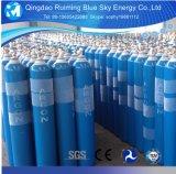 Газ аргона цилиндра 99.999% безшовной стали лт высокой очищенности 40