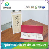 Offset Printing Desktop Calendar avec style traditionnel chinois