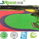 Saft et aucune odeur de terrain de jeux pour enfants Spu Flooring