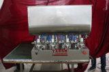 Ungüento de cuatro pistas/goma/crema/salsa semiautomática y máquina de rellenar líquida 100-1000ml (G4WGD)