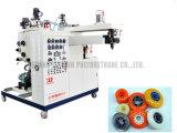 Máquina de carcaça do poliuretano para a polia