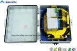 32 코어 FTTH PC+ABS 광섬유 삽입된 유형 배급 상자