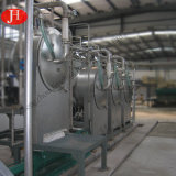 Tamiz de la centrifugadora de China que separa el almidón de patata de la fibra que procesa haciendo la línea