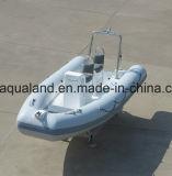 Aqualand 16pies 4,8m inflables rígido Rib /lancha patrullera de salvamento/Deportes barco de buceo (RIB480T)