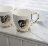 Tazza di ceramica operata di doratura elettrolitica del regalo