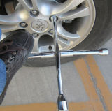 Chiavi a quattro vie trasversali automatiche della rotella della chiave a bussola