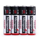 Super щелочных батареи 1,5 В сухих батарей типа AA