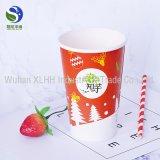 カスタムロゴによって印刷される使い捨て可能なペーパーコーヒーカップ