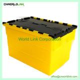Pesado de armazenagem logística de movimentação de contêiner de plástico para acondicionamento