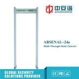 Detector de metales inteligente llano de la partición del detector de metales de la seguridad de las prisiones de la arcada 200
