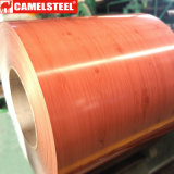 O revestimento de madeira galvanizou a bobina de aço