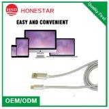 China Universal USB cable de datos de alta calidad 2A Micro USB Cable de cargador de teléfono Tipo C