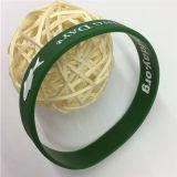 Bracelete de borracha feito sob encomenda preço relativo à promoção dos presentes do bom