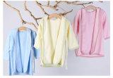 卸し売り快適な赤ん坊の綿の浴衣の有機性綿の新生の赤ん坊のバスローブ