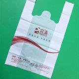 Umweltfreundliche HDPE Shirt-Einkaufen-Beutel