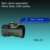 métèque 1000 de robinet à tournant sphérique de Wcb d'acier du carbone de moulage de précision 1-PC