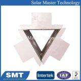 Bride d'extrémité et le milieu de collier de fixation du panneau solaire