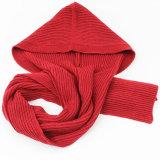 Человек Леди зимой осенью вязаные шерстяные колпачковая шарфы
