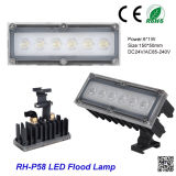 Outdoor Waterproof IP 66 High Power 220V 6W LED Floodlight