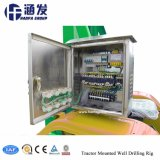 Portable Tube de forage de puits d'eau du sol Rig Prix de la machine (HF100T)