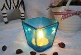 De vrije Kruik van de Kaars van het Glas van de Thee van de Steekproef Vierkante Lichte voor het Decor van het Huis