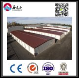 Entrepôt personnalisé par qualité de structure métallique (BYSS011)
