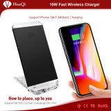 caricatore mobile senza fili veloce del basamento 5With7.5W per il iPhone 8/8 di Plus/X