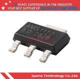 Transistore basso dello stabilizzatore di tensione di interruzione procedura di AMS1117 Sot-223 80mA