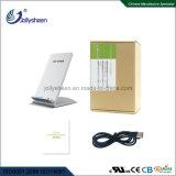 As vendas de bobinas de dupla inteligente rápido carregador sem fio Carregador Smart Wireless Silver