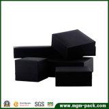 Kundenspezifische schwarze Verpackungs-Plastikschmucksache-Kasten