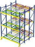 El almacenaje aparta el estante de la paleta para el almacén