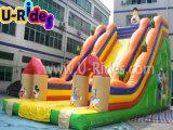Горячий надувной слайд надувной клоун