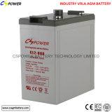 Batteria al piombo 2V1000ah della garanzia del fornitore 3years della Cina
