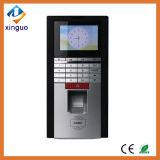 El control de acceso biométrico de huellas dactilares y lector de tarjetas RFID