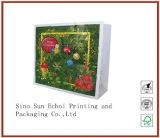 Custom печати напечатанных крафт-бумаги торгового упаковки подарок водила бумажные мешки для упаковки с ручками
